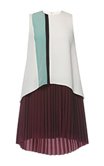 Two Layer Line Dress