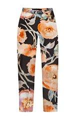 Flower Tuck Pants