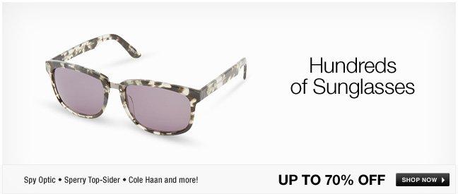 Hundreds of sunglasses!