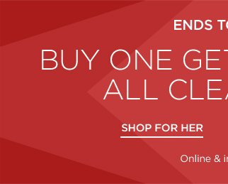 Buy 1 Get 2 Free Clearance Blowout
