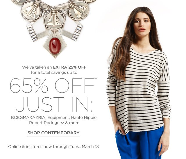 Up to 65% off Contemporary