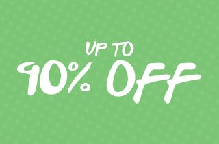 Sunday Steals Up To 90% Off