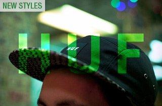 HUF: New Hats