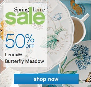 Spring Home Sale - shop now