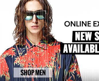 Online Exclusives. SHOP MEN.