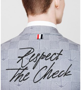 Respect The Check. It's hip to be square. Here's how to wear it well. Shop now