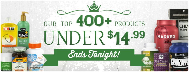 Top 400+ Products Under $14.99