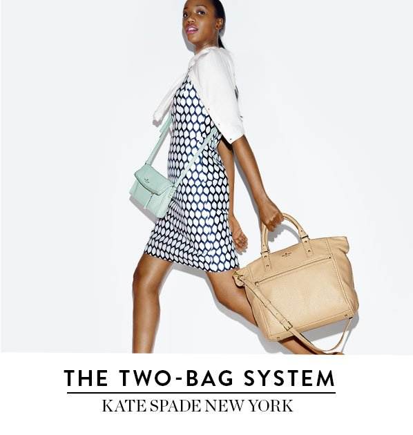 THE TWO-BAG SYSTEM - KATE SPADE NEW YORK