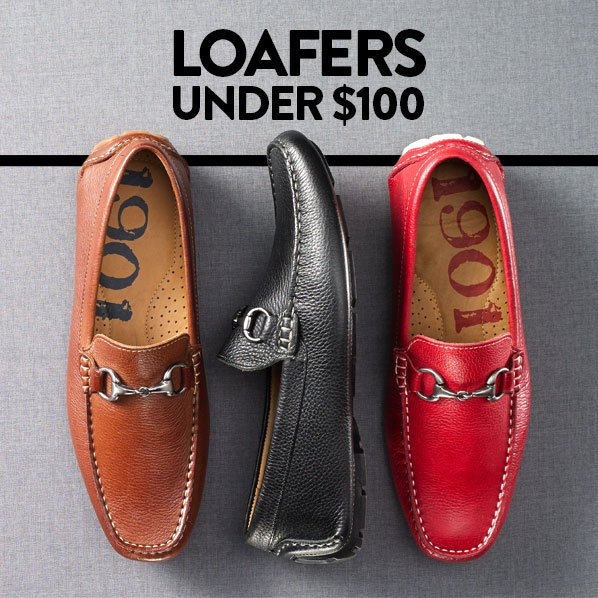 LOAFERS UNDER $100