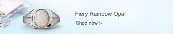 Fiery Rainbow Opal
