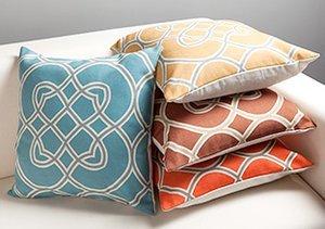 Spring into Color: Throw Pillows