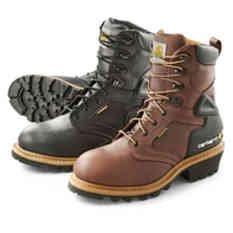 Men's Carhartt® Soft Toe Waterproof Logger Work Boots