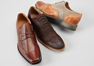 Working Man: Loafers & Lace-Ups