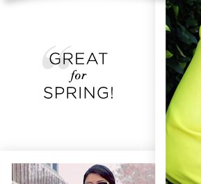Best of Instagram: Great for Spring