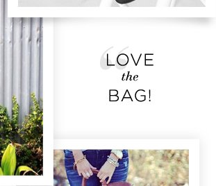 Best of Instagram: Love the Bag