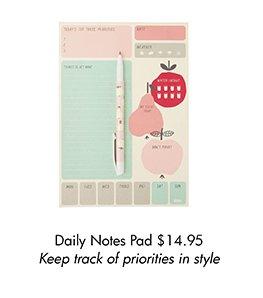 Daily Notes Pad