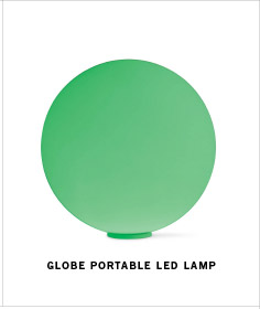 GLOBE PORTABLE LED LAMP