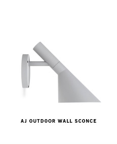 A J OUTDOOR WALL SCONCE