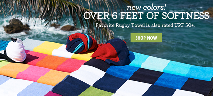 Favorite Rugby Towel SHOP NOW