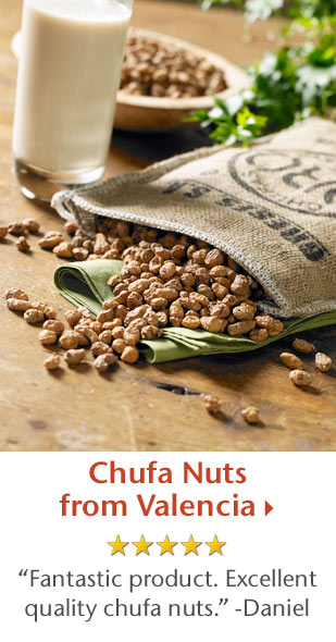 Chufa Nuts from Valencia - 5 Star Rated - Fantastic product. Excellent quality chufa nuts. -Daniel