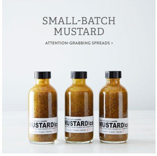 Small-Batch Mustard