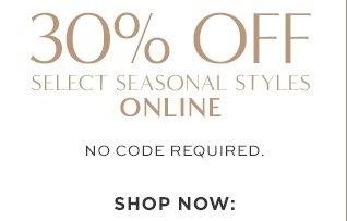 30% OFF | ONLINE