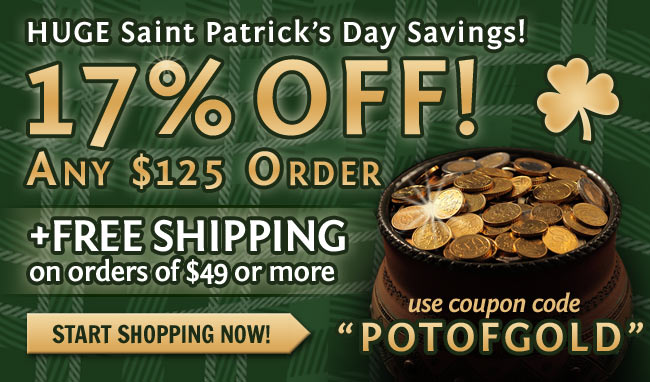 Save 17% OFF Your Order + FREE Shipping This Week!