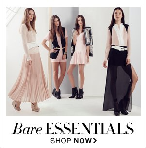SHOP BARE ESSENTIALS