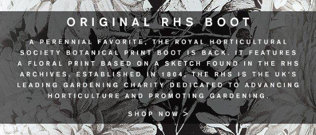 Original RHS Boot