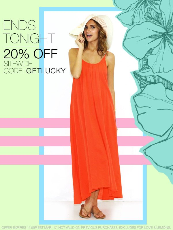 Take 20% off site-wide at Boutique To You!