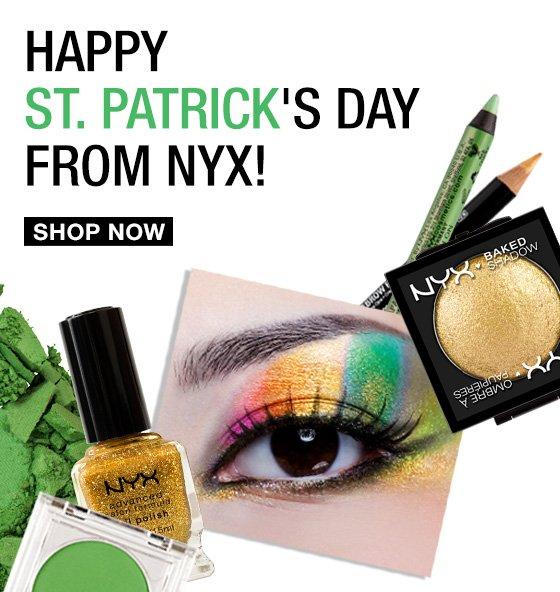 Happy St. Patrick's Day From NYX!