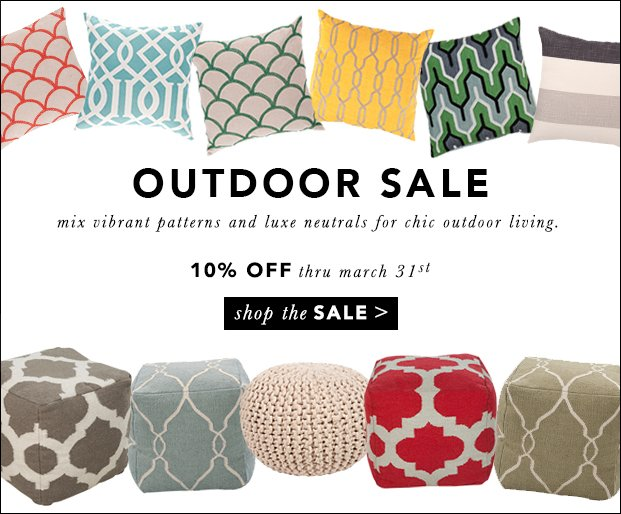 Outdoor Must-Haves 10% Off Through 3/31