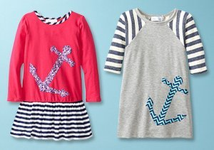 Anchors Away: Girls' Sailorly Duds