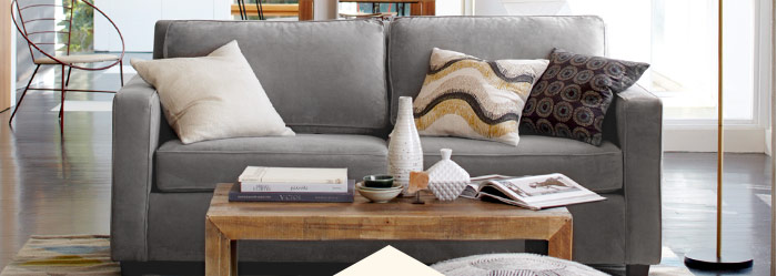 "20% off best-selling sofas*. Save ""til tonight"