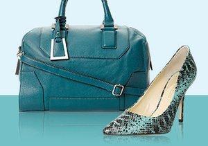 Emerald Hues: Shoes, Bags & More