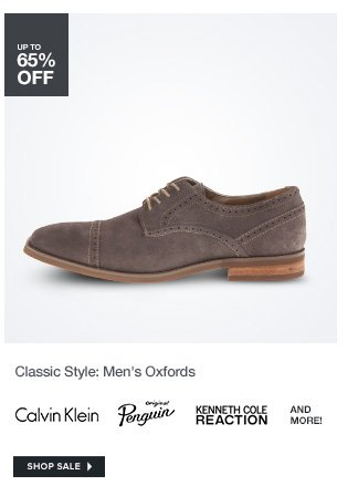 Classic Style: Mens Oxfords