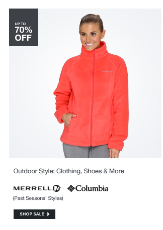 Outdoor Style: Clothing, Shoes and More