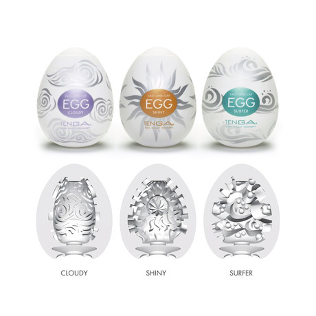 Tenga Egg 3-Pack // Season 4