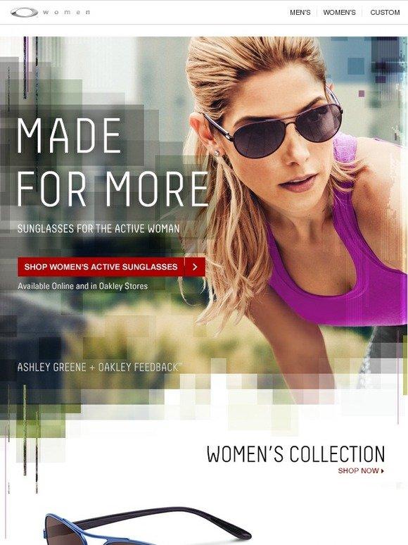 d365df9f98 Oakley  Just In  New Women s Feedback™ Sunglasses