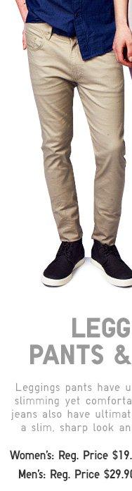 Men's Leggings Pants