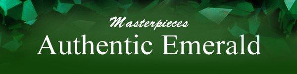 Masterpieces Authentic Emerald