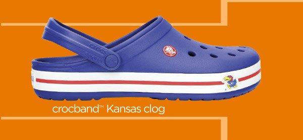 crocband Kansas clog