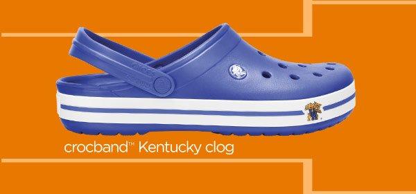 crocband Kentucky clog