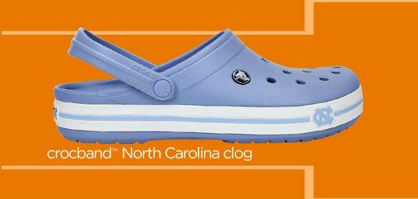 crocband North Carolina clog