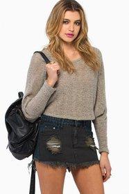 Fairfax Denim Skirt In Redondo $32