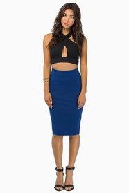 Miss Interpreting Pencil Skirt $35