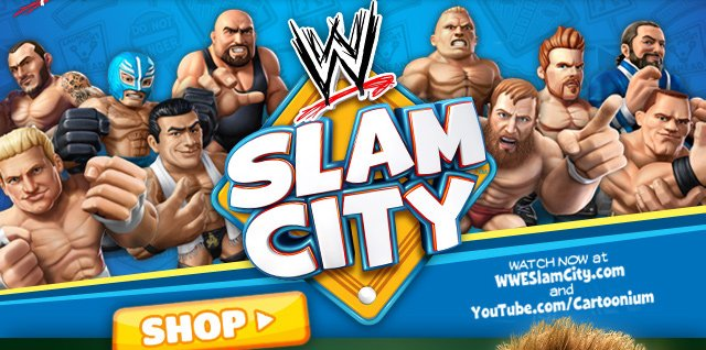 Slam City Action Figures