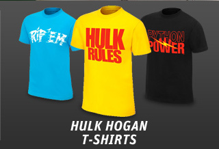 New Hulk Hogan T-shirts!