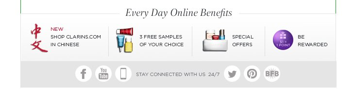 Everyday Online Benefits