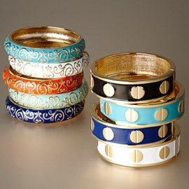 Dial Up the Style: Women's Bangles